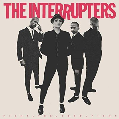 The Interrupters - Fight The Good Fight Digipak  Cd New+