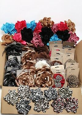 Wholesale Lot - 56 Hair Accessory Clips/pins Floral