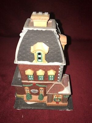 Dept 56 Christmas in the City Series Haberdashery 55310 Excellent Cond