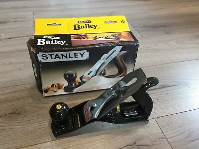 Stanley Bailey Hand Bench Smoothing Plane No.4 Number 4