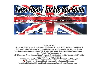 Extra Slotted Float/Tackle Box Foam