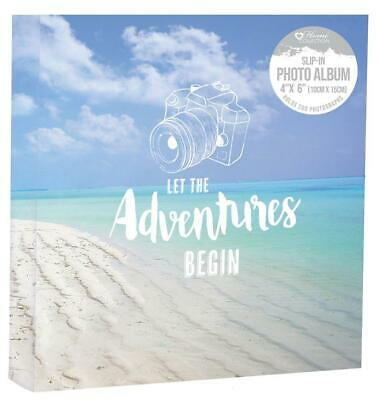 "Memories 200 Holds Slip In Photo Album 4'' x 6""With Memo Area"