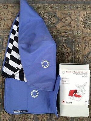 Rare Special Edition Bugaboo Cameleon 3 Jewel Blue Tailored Fabric Kit