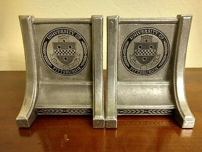 University of Pittsburgh Pitt Panthers heavy metal Bookends