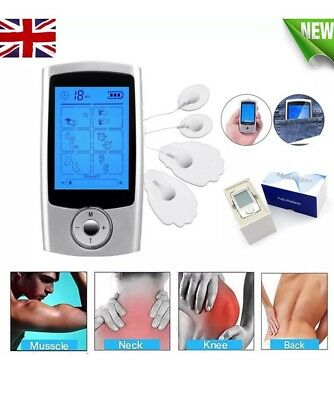 Electric TENS Body Massager Unit Electronic Pulse Muscle Stimulator Pain Relief