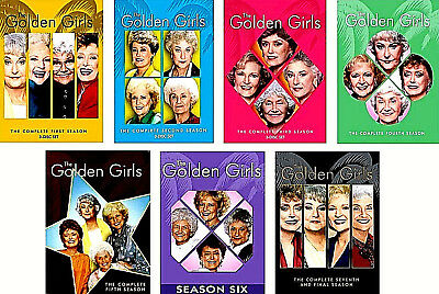 .The Golden Girls Complete Series Seasons 1 2 3 4 5 6 7  Series Collection  DVD