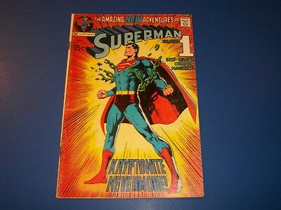 Superman #233 Classic Neal Adams Cover Wow