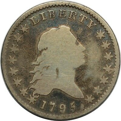 1795 Flowing Hair Half Dollar - PCGS G04 - O-113a T-14 R4 - A over E in STATES