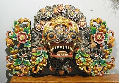 Large Mask Balinese Boma Guardian To Scare Off Evil
