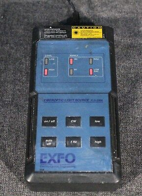 EXFO High Power Visual Fault Locator VFL Model FLS-230A-91 Used Working