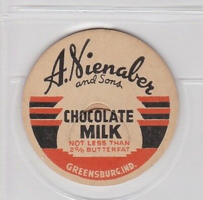 A. Nienaber and Sons milk cap-Greensburg, Indiana