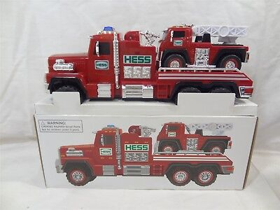 2015 Hess Fire Truck and Ladder Rescue Toy w/ Siren, Lights, Ladder, Etc.