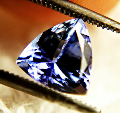 50% Off! Top IF Natural Tanzanite 1.25 ct Certified No Reserve