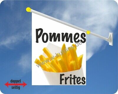 Flagge, Pommes, Frites, Grill, Pommes Frites, Imbissbude, Fahne, Imbiss, Kirmes
