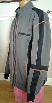 Ladies IXON XN-Body Jacket L Thermal Grey Tetratex Two Stage Dry System