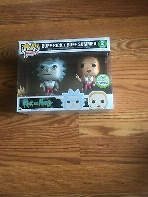 buff rick and summer funko pop 2017 Spring convention exclusive