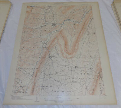 1903 Topographic Map of HOLLIDAYSBURG QUADRANGLE, BLAIR COUNTY, PA