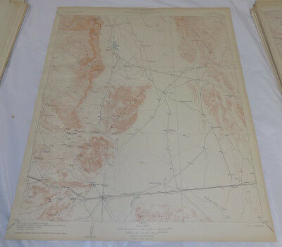 1906 Topographic Map of VAN HORN QUADRANGLE, EL PASO COUNTY, TEXAS