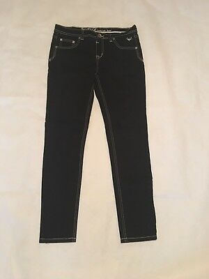 Girls Justice Jeans Size 14 1/2 Black Never Worn