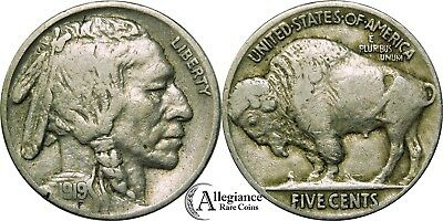 1919 5c Buffalo Nickel DDO doubled die obverse rare old type coin money