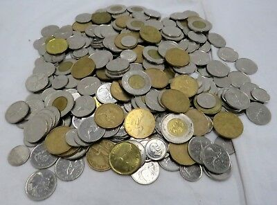 Assorted Lot of Canadian Coins 3 lb - Spending Canada Exchange Money Currency