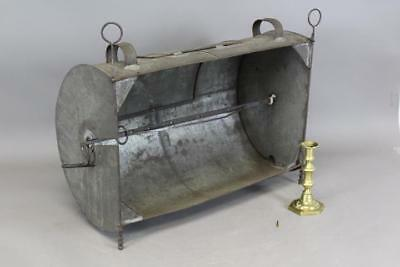 A Fine Late 18Th C Reflector Hearth Oven Old Surface With Wrought Iron Skewer