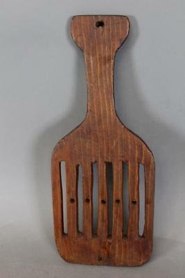 Rare Early 19Th C American Lollipop Top Tape Loom In Old Surface Rare Small Size