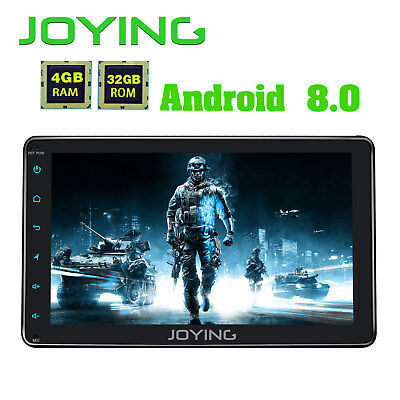 """Bluetooth Car Stereo Radio 2DIN 8"""" Touchscreen HD 8-CORE 4G WIFI GPS Android 8.0"""