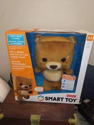 Fisher-Price Smart Toy Bear Brand New In Box