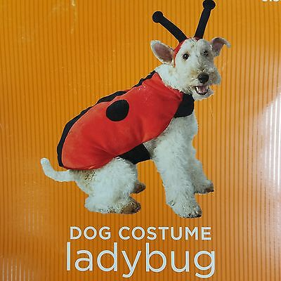 Lady Bug Dog Halloween Costume Outfit 21 to 30 lb sz L large