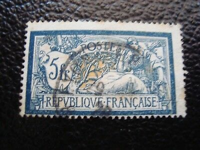 FRANCE - stamp yvert/tellier n° 123 cancelled (rust) (A13)