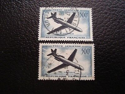FRANCE - stamp yvert/tellier air n° 36 x2 cancelled (A12)