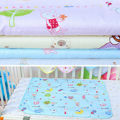 Waterproof Baby Infant Urine Mat Diaper Nappy Kid Bedding Changing Cover Pad USA