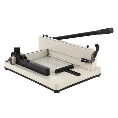 Amzdeal Heavy Duty Guillotine Paper Cutter 400 Sheets Paper/Card