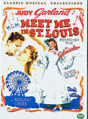 MEET ME IN ST.LOUIS (1944) - New Sealed DVD Judy Garland, Margaret O'Brien