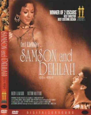 Samson And Delilah (1949) - New Sealed DVD Cecil B. DeMille
