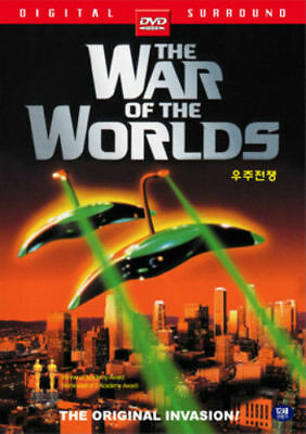 The War of the Worlds (1953) - New Sealed DVD Gene Barr