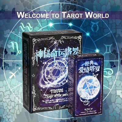 Tarot Cards Game Family Friends Read Mythic Fate Divination Table Games FE