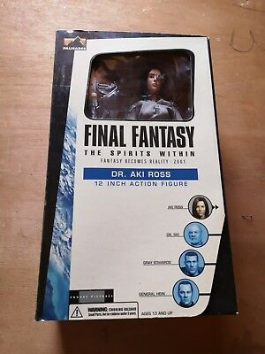 Final Fantasy - The Spirit With in-Dr. Aki Ross-Figur OVP