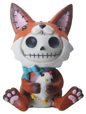 FurryBones Fen Figurine Fox Cute Gothic Gift Skeleton Skull Different Fun Cool