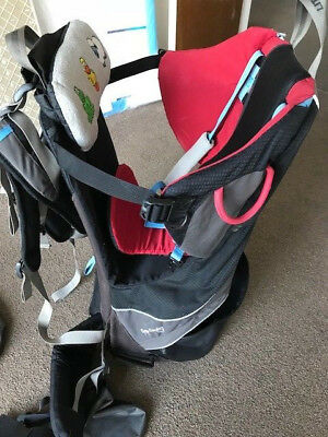 Little Life Cross Country Baby Carrier with Hood