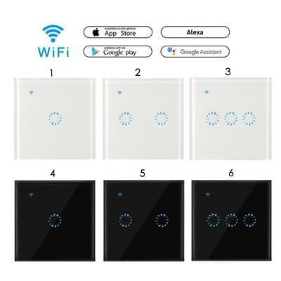 Home Touch Smart WIFI APP Wall Light Glass Panel Timing Switch Retome Light