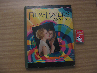 FILM LOVERS ANNUAL Todd & King Circa 1930's with 140 pages HC Movie stars
