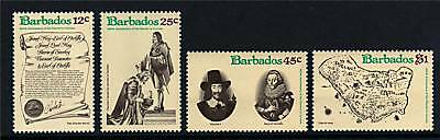 Barbados 1977 Granting of Charter SG 586/9 MNH