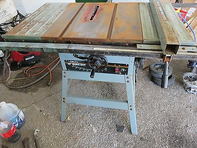 """DELTA 10"""" Contractor's Table Saw Model 36-600"""