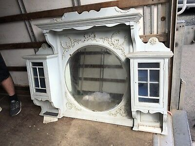 French Over Mantle Mirror