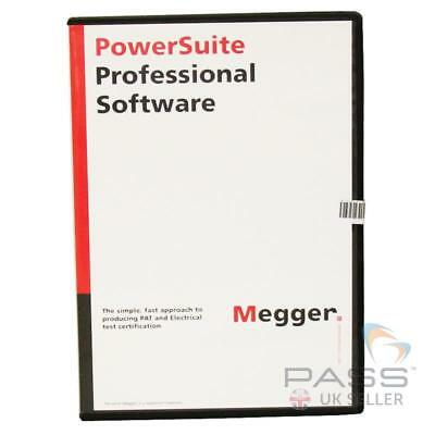 Megger 1000-633 PowerSuite Professional Contractor Software / UK Stock