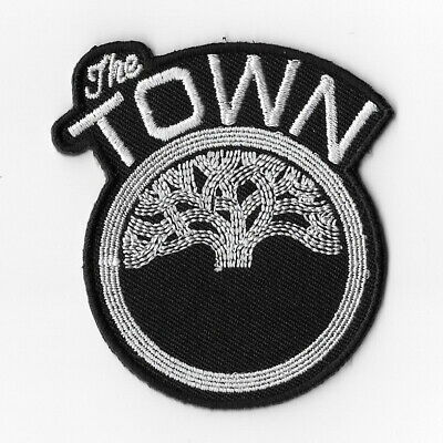 NBA Golden State Warriors The Town Iron on Patches Embroidered Patch Badge Black
