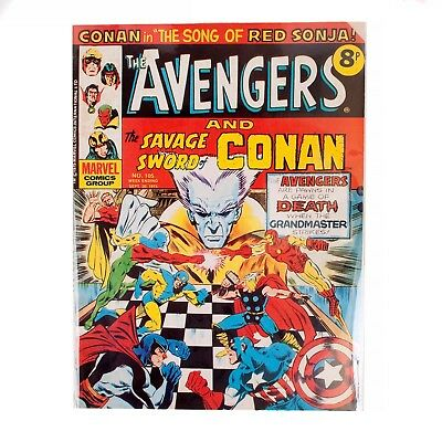 Vintage Marvel - The Avengers Comics Weekly - UK Edt #105 - Sept 1975
