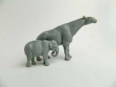Paraceratherium, Indricothere 1/72 scale 3d plastic Model hard to find!!